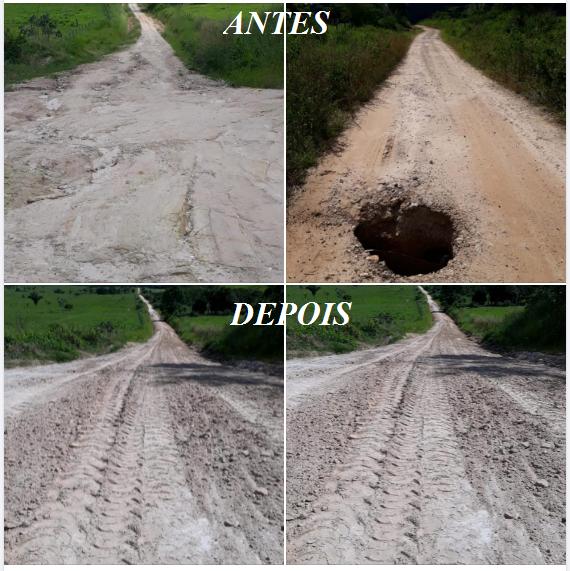 Restauração da estrada da Linha Eletrônica (linha 64) - Abril de 2021